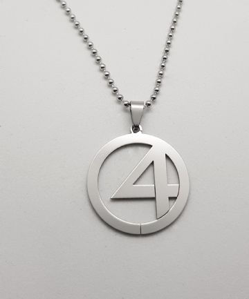 Fantastic 4 Stainless Steel Pendant